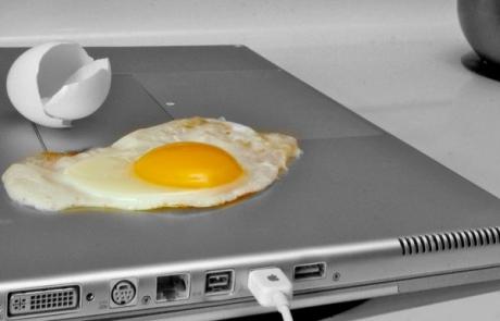 Laptop-egg